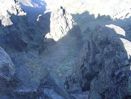 Cuerno del Almanzor desde la cima.